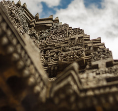 Vimana - Somanathpur Temple (Swaminathan Natarajan) Tags: outdoors architecture archaeology temple templearchitecture travel tourism heritage incredibleindia blogger sky tower stoneart canon canon550d karnataka historic india stone art photography travelphotography