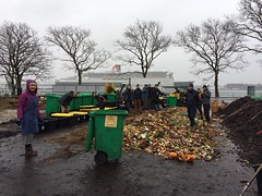 Community Compost Build - Perry's Pile 1.3.17