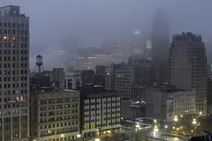 Fogged (Notkalvin) Tags: detroit fog rooftop notkalvin mikekline notkalvinphotography outdoor weather