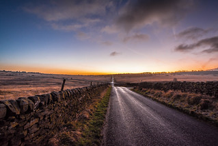 The Road to Curbar!
