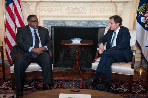Deputy Secretary Blinken Meets With Somali Prime Minister Sharmarke
