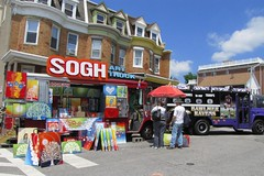 HonFest 2015, Baltimore, Maryland (A CASUAL PHOTGRAPHER) Tags: festivals maryland baltimore hampden rowhouses honfest artartists shawntheron sogharttruck