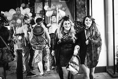 Halloween Temple Bar #2 (Asquiff) Tags: street ireland girls blackandwhite dublin irish hot halloween bar temple mono dress ride lads fancy nightlife revellers