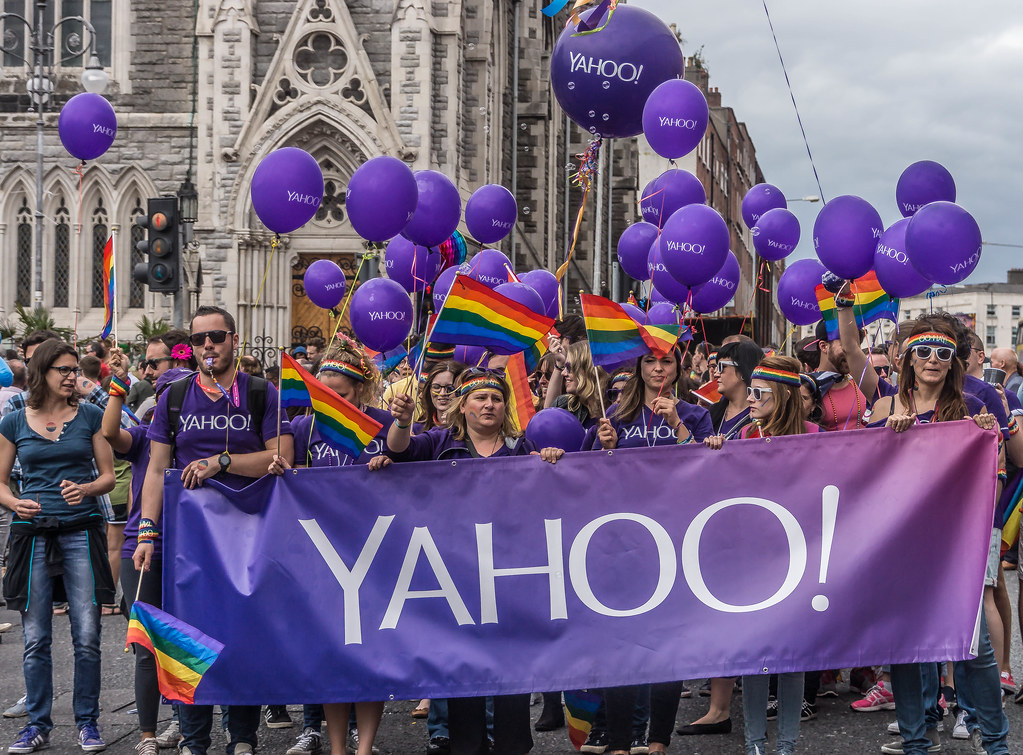 DUBLIN PRIDE 2015 [ YAHOO! WERE THERE - WERE YOU?]-106289