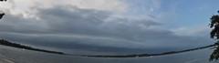 Boggy Bayou, Florida (fisherbray) Tags: sky autostitch panorama usa storm water bay nikon wasser unitedstates florida military thunderstorm airforce usaf afb niceville eglin kvps choctawhatcheebay vps okaloosacounty d5000 boggybayou fisherbray postlpoint