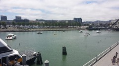McCovey Cove (mountmccabe) Tags: boats sanfranciscobay chinabasin mccoveycove