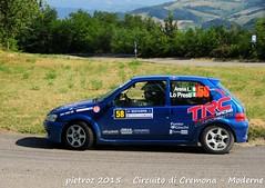 058-DSC_6409 - Peugeot 106 - N2 - Arena Luca-Lo Presti Gianluca - FKP Racing Team piacenza (pietroz) Tags: photo nikon foto photos rally fotos di pietro circuito cremona zoccola pietroz d300s