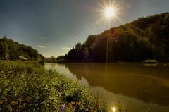 opacinski valley at 8 mm (Zyla, K. alone) Tags: summer sun nature landscape pond afternoon poland polska roadside lato beskidniski wysowa pentaxsmc thebp inexplore justpentax pentaxart sigma816 pentaxk30