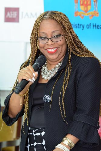 AHF Jamaica Love Condoms Donation Ceremony
