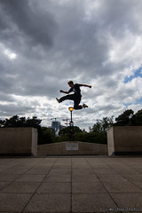 Jack (LukeStonesPhotos) Tags: trees sky rock wall clouds canon mario freerunning parkour striding 700d