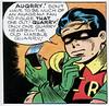AUQRRY (Tom Simpson) Tags: robin illustration vintage comics newspaper code 1940s batman comicstrip 1945 matchbook boywonder matchcode