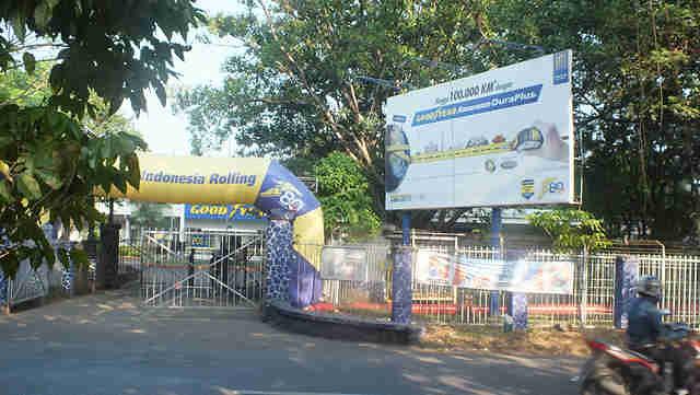 Pabrik Ban Goodyear Bogor