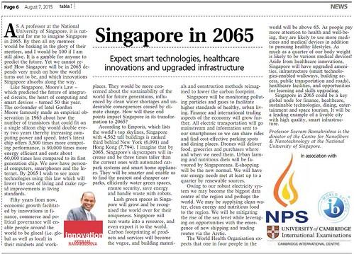 Singapore in 2065