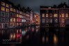 Floating Houses. (sergeyashin) Tags: ifttt 500px 2016 colors travel love night zeiss evening amsterdam windows home canal cosy houses eurpe remo scarfo wbpa natural reflection refelcted