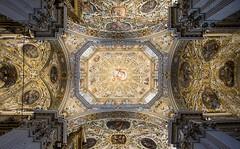 Santa Maria Maggiore, Bergamo (abbabassa) Tags: begamo chiesa church volta fresco frescos affresco affreschi decorations decorazioni ceiling basilica santa maria maggiore frescoed volte affrescate cathedral italy italia art arte