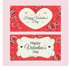 free vector Happy Valentine's Day Banners (cgvector) Tags: 50 advertise affection amour anniversary artistic banner beautiful best big biggest bumper business celebration collection day decoration dhamaka discount elegant embrace emotion event feeling festive footer friendship happiness header heart hurry love marketing marriage now off offer retail romance romantic saint sale start technology up upto valentine website background newyear happynewyear winter 2017 party design animal chinesenewyear wallpaper chinese color happy holiday happyholidays china winterbackground