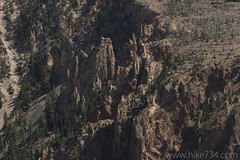 "Rock formations on Bunsen Peak • <a style=""font-size:0.8em;"" href=""http://www.flickr.com/photos/63501323@N07/31363054523/"" target=""_blank"">View on Flickr</a>"