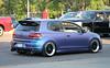Volkswagen Golf R (MkVI) (SPV Automotive) Tags: volkswagen golf r mkvi hatchback sports car tuner matte purple blue