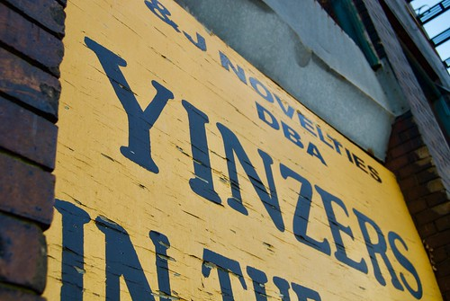 Yinzers In The Burgh Sign