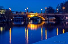 Moltkebrücke Berlin (explore # 41) (rafischatz... www.rafischatz-photography.de) Tags: germany berlin capital river spree moabit bridge moltkebrücke bluehour longexposure pentax k3