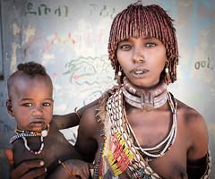 ethiopia - omo valley (mauriziopeddis) Tags: africa ethiopia etiopia omo valley valle river reportage portrait ritratto viso face people tribe tribal tribù culture cultural etnia canon leica sl