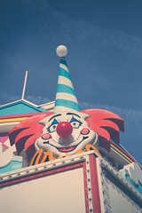 Point Pleasant Fun House (Erin Cadigan Photography) Tags: purple point pleasant nj new jersey fun house amusement winter