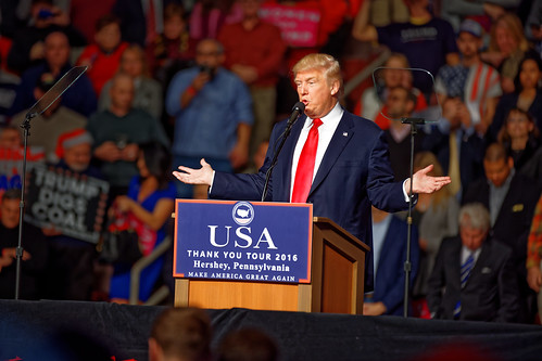 Donald Trump at Hershey PA on 12/15/2016 Victory Tour
