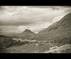 Stac Pollaidh (Zou san) Tags: scotland highland mountain rossshire landscape kodak no2boxbrownie expiredfilm monochrome vuescan epson4490 tmax400