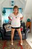 Leather Shorts (Trixy Deans) Tags: crossdresser cd cute crossdressing crossdress classic classy corset shemale short shorts tgirl tv transvestite transsexual tranny trixydeans tgirls transvesite