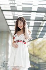 DSC_5295 (錢龍) Tags: 陳葳 d700 美術館 nikon 外拍 美胸 beauty girl sexy