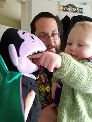 The Count, Andy, and Paul (quinn.anya) Tags: thecount andy paul finger mouth sesamestreet