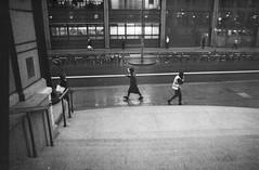 Cold Rainy day (Iliyan Yankov) Tags: bw rodinal 150 mono monochrome blackandwhite agfa vista cross london rain film photography people street 35mm ishootfilm filmisnotdead buyfilmnotmegapixels analogue grain nocrop