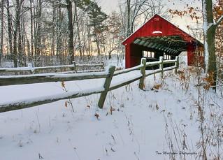 Covered Bridge at Cedar Creek