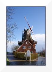 The mill (Renata_Lipińska) Tags: windmill wiatrak germany deutschland niemcy outdoor renatalipińska