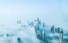 (yeeship) Tags: fuji dubai uae travel atthetop fog mist highrise burjkhalifa
