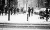 berlin...... (andrealinss) Tags: berlin bw blackandwhite berlinstreet berlinstreets lichterfelde snow schwarzweiss street streetphotography streetfotografie andrealinss