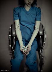 meds (frecklefoxmitch) Tags: bjd abjd balljointeddoll dollleaves andy hospital meds pills