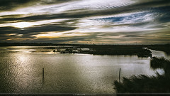 Water View. (Jean McLane) Tags: water cloudy darksky reflects reflections reflets reflejos