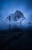 Lofoten (mitalpatelphoto) Tags: winter adventure blue clouds earth explore hamnoy indurotripod landscape lofoten longexposure mountains nature nikon norway photography snow travel visit water nordland no