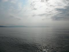 Nea Vrasna 062 (jecadim) Tags: morning blue sea summer holiday beach yoga dawn greece meditation neavrasna