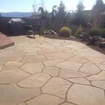 "Stone patio, rock patio, wood deck, landscaping, backyard, boulders, patio, outdoor area, landscape, lifescape <a style=""margin-left:10px; font-size:0.8em;"" href=""http://www.flickr.com/photos/117326093@N05/18330615996/"" target=""_blank"">@flickr</a>"