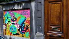 Bu the Warrior, Billy & Alex, Mernywernz / Johan Daisnestraat - 22 juni 2015 (Ferdinand 'Ferre' Feys) Tags: streetart graffiti belgium belgique bue belgi urbanart graff ghent gent gand graffitiart artdelarue urbanarte billyalex mernywernz buthewarrior