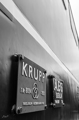 Krupp und AEG (-BigM-) Tags: museum germany deutschland photography fotografie db e oldtimer electrical bahn rheinland pfalz koblenz deutsche bundesbahn lok bigm locomitive ltzel elektrolokomotive