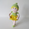 Buttercup Fairy (Knitting patterns by Amanda Berry) Tags: cute green mushroom woodland toy toys knitting doll dolls pattern buttercup patterns crafts magic sprite fairy knits fairies ravelry amandaberry fluffandfuzz