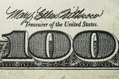 DSC_1767A-One-Hundred-100-With-Micro-Print-(900) (PryanksterDave (Dave Price)) Tags: money macro 2015 macrobellows strobist macromonday lightingessentials