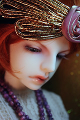 Nora (bentwhisker) Tags: 1920s doll bjd flapper resin gretta 0723 dollzone