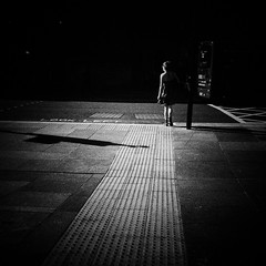 Come out of the shadows (Pat Kelleher) Tags: street light shadow newcastle photography candid pat shade iphone kelleher