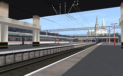 TANE - Glauston Central (skodatrainz) Tags: mk2 swallow intercity trainz catenary nse dvt tane mk3 networksoutheast 25kv midshire acelectric glaustoncentral