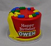 lego superhero birthday cake (jennywenny) Tags: birthday red cake lego super hero