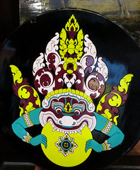 Demon Art in Cambodia (shaire productions) Tags: travel abstract art design asia cambodia southeastasia image symbol artistic god decorative character creative picture culture icon creation photograph demon decor cultural guardian imagery